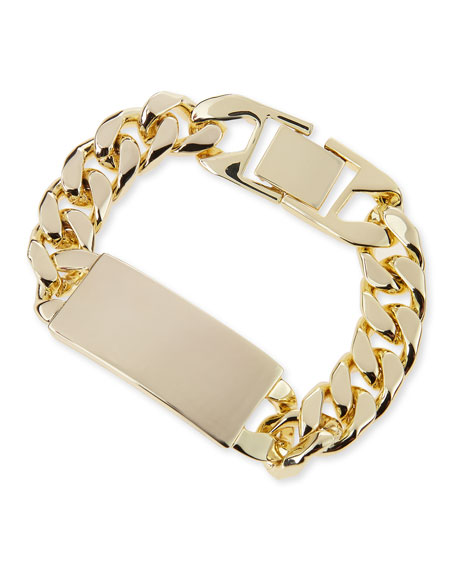 Alex 14K Gold-Plated ID Bracelet