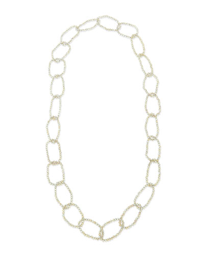 Panacea Smoky Crystal Link Necklace