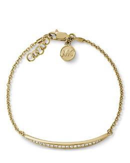 Michael Kors  Matchstick Line Bracelet, Golden