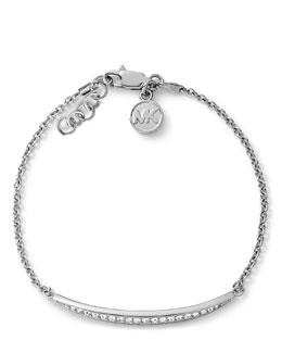 Michael Kors  Matchstick Line Bracelet, Silver Color