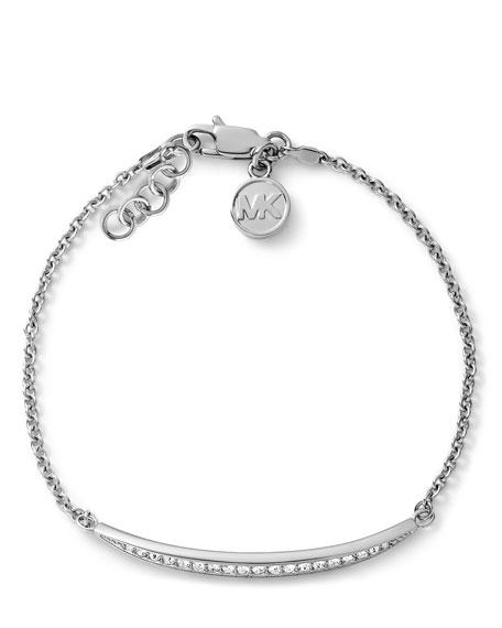 Matchstick Line Bracelet, Silver Color