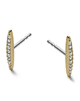 Michael Kors  Matchstick Post Earrings, Golden
