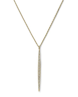 Michael Kors  Matchstick Charm Necklace, Golden