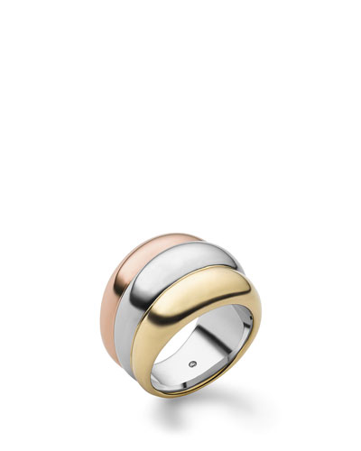 Michael Kors  Tricolor Stacked Ring