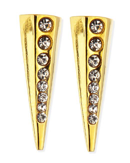 Paige Novick Gold-Plated Pointy Stud Earrings