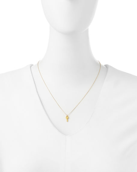 Dogeared Gold-Dipped Confidence is Key Necklace