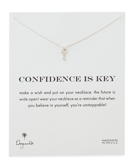 Confidence is Key Silver-Plated Necklace