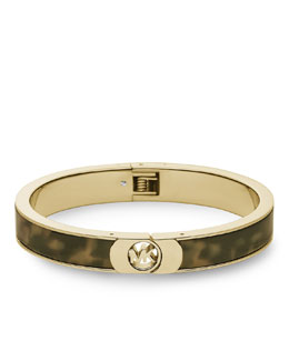 Michael Kors  Skinny Fulton Bangle, Tortoise