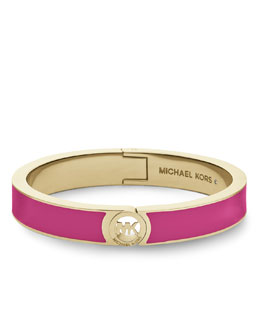 Michael Kors  Skinny Fulton Bangle, Golden/Zinnia