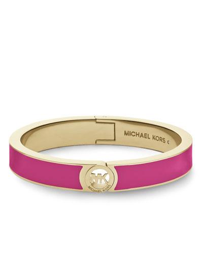 Michael Kors  Skinny Fulton Bangle, Golden/Zinnia