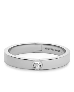 Michael Kors  Skinny Fulton Bangle, Silver Color