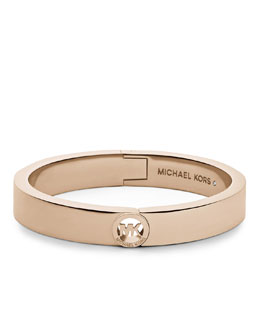Michael Kors  Fulton Skinny Bangle, Rose Golden