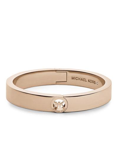 Michael Kors  Fulton Skinny Bangle, Rose Golden
