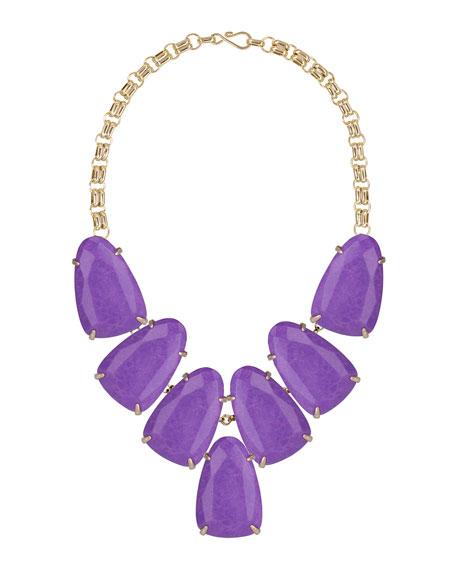 Harlow Necklace, Violet