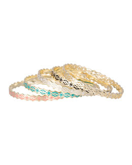 Kendra Scott Morocco Mollie Bangle Set, Five-Piece