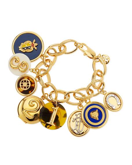 Shiny Delora Charm Bracelet
