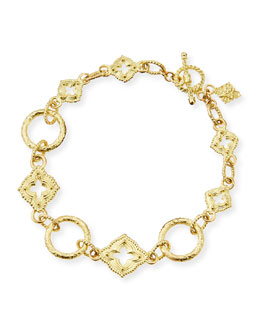 Armenta 18-Karat Yellow Gold Sculpted Link Bracelet