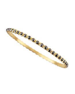 Armenta Sueno Eternity Black Diamond Bangle