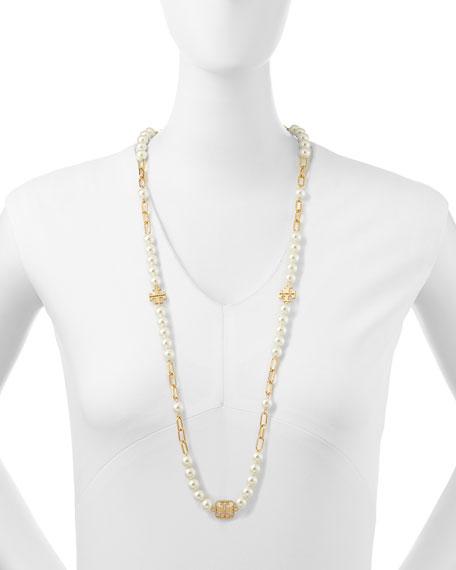 Tilde Logo Rosary Necklace