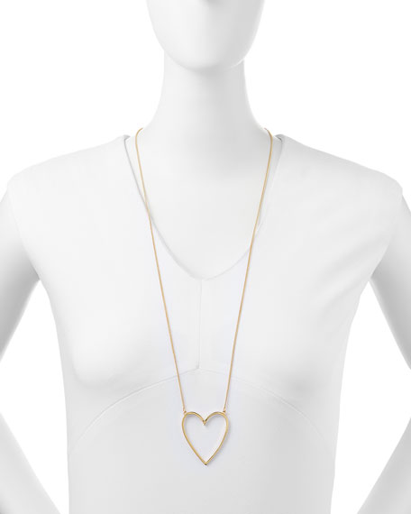 Heart's Desire Pendant Necklace, 32""