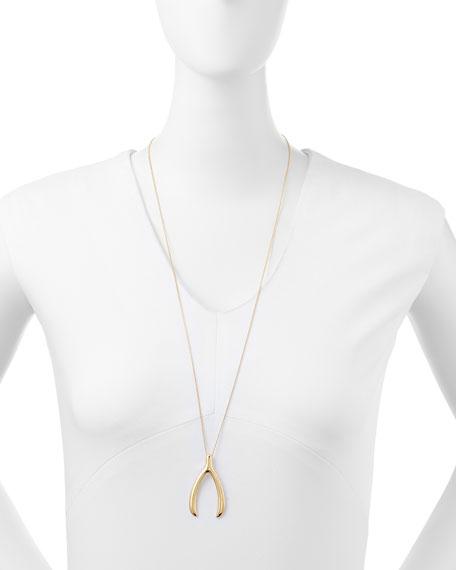 "Wishbone Chain Necklace, 32"""