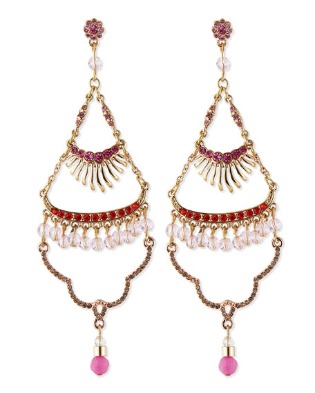 Sea Urchin Tiered Earrings