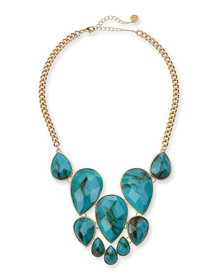 Pietra Stone Chain Necklace