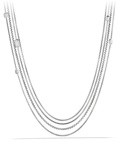 David Yurman Confetti Station Necklace with Diamonds