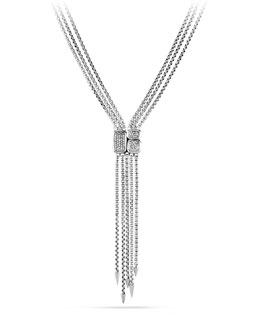 David Yurman Confetti Drop Necklace with Diamonds
