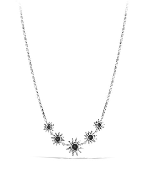 Image 2 of 3: Starburst Five-Station Necklace with Diamonds