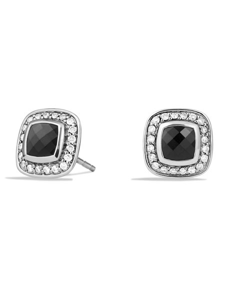 David Yurman Petite Albion Earrings with Black Onyx