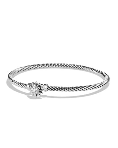 David Yurman Starburst Single-Station Bracelet with Diamonds