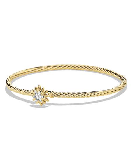 David Yurman Starburst Single-Station Cable Bracelet with