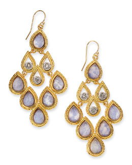 Alexis Bittar Sodalite Doublet Earrings