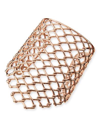Alexis Bittar Asymmetric Barb-Link Cuff
