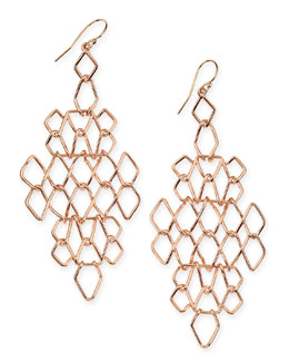 Alexis Bittar Barbed Wire Link Earrings