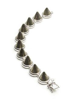 Eddie Borgo Pyrite Cone Bracelet