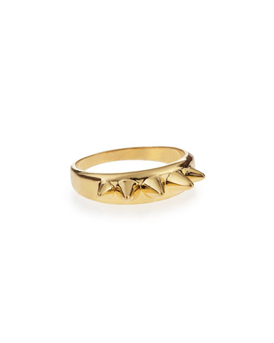 Golden Studs Ring
