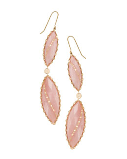 Lana 14k Mega Marquise Blush Earrings