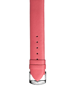 Philip Stein 18mm Leather Strap, Salmon