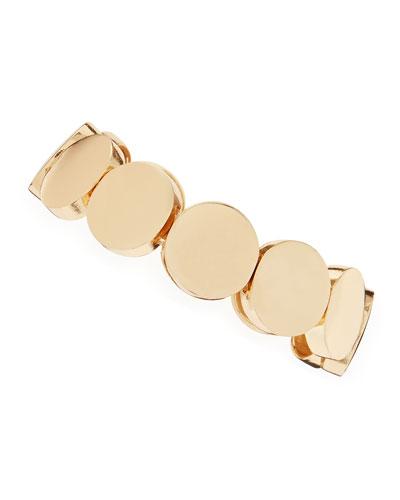 Circle Stretch Bracelet, Yellow Golden
