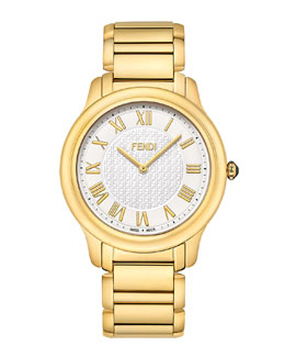 Fendi Golden Round Classico Watch