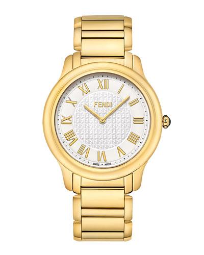 Fendi Timepieces Golden Round Classico Watch