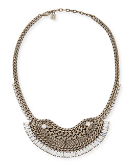 Dannijo Lilith Crystal Chain Necklace