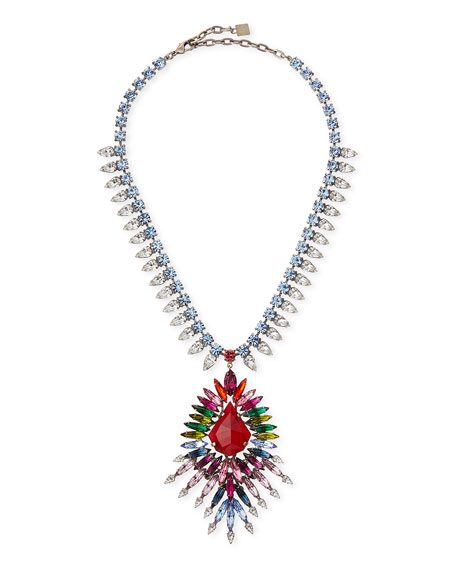 Valeria Multicolor Crystal Necklace
