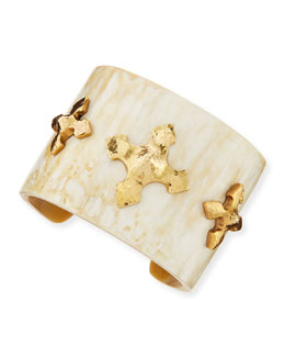 Ashley Pittman Tani Cuff, Light Horn