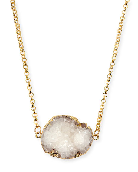 Rock Candy Necklace, White