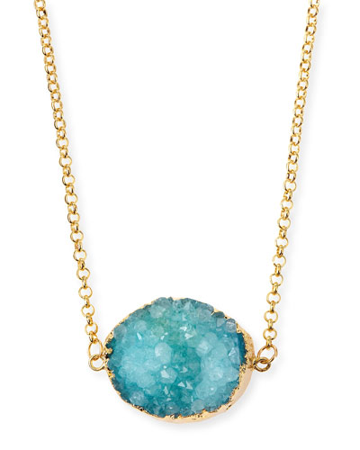 Rock Candy Necklace, Turquoise