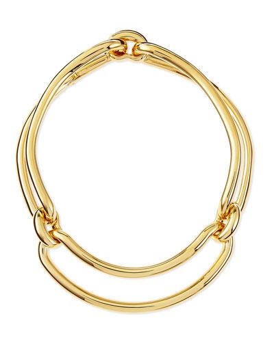Maillon Metal Clip Necklace