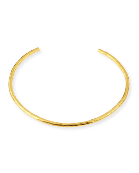 Herve Van Der Straeten Epure 24k Gold-Plated Collar Necklace